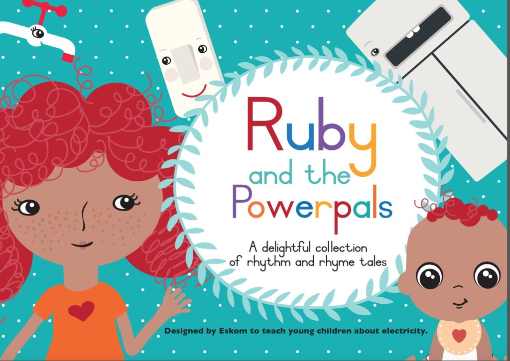 Ruby and the Powerpals make kids electricity wise – Amplifier Eskom1 pic 1024x725