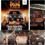 Hat Trick for Toyota Fortuner 4×4 Challenge