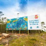 Woodlands Dairy launches 'rubbish' billboard