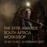 Virtual entry workshop for the 2021 Effie Awards